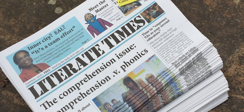 The Comprehension Issue: Literate Times 3 is here!