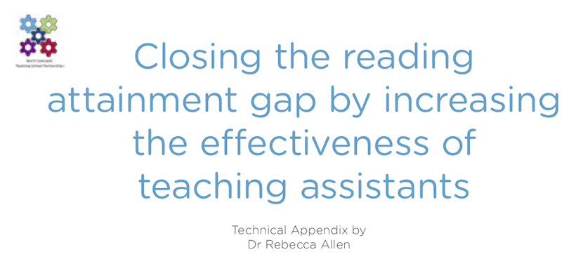 SSIF Reading Attainment